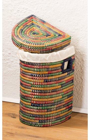 w schekorb aus palmfaser online kaufen dw shop 268342. Black Bedroom Furniture Sets. Home Design Ideas