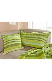 baumwoll kissenh lle in streifen blau 271304 dw shop. Black Bedroom Furniture Sets. Home Design Ideas