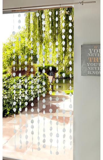 Muschel vorhang 200x90 online bestellen dw shop - Muschel dekoration ...