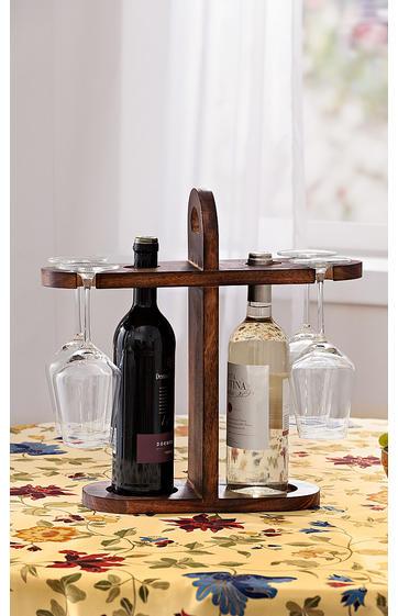 holz flaschenhalter online bestellen dw shop 265348. Black Bedroom Furniture Sets. Home Design Ideas