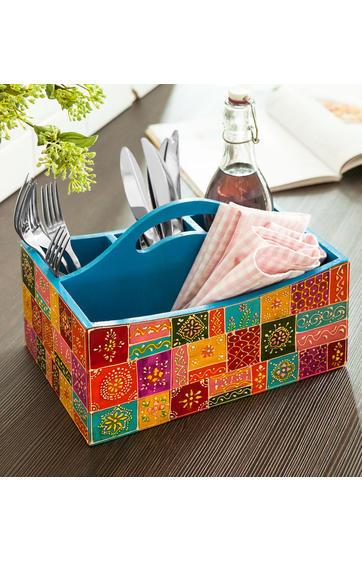holz utensilienbox online bestellen dw shop 264200. Black Bedroom Furniture Sets. Home Design Ideas