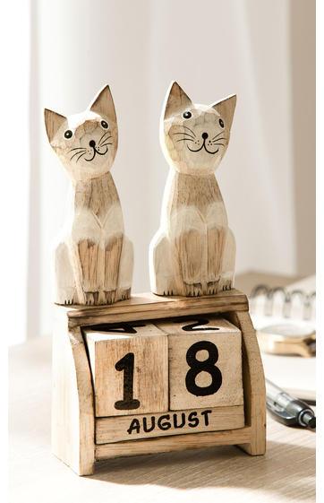 holz kalender online bestellen bei dw shop 262 808. Black Bedroom Furniture Sets. Home Design Ideas