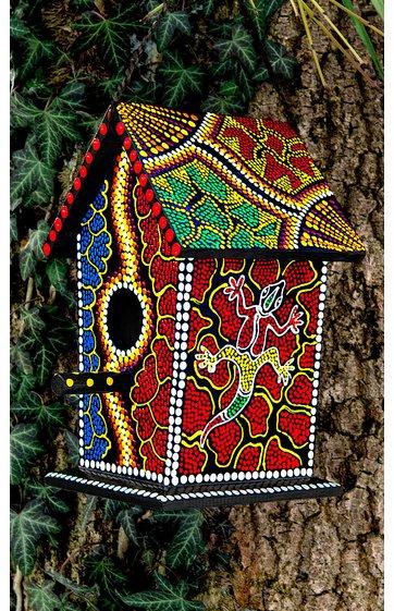 vogelh uschen aus albesia holz 269894 dw shop. Black Bedroom Furniture Sets. Home Design Ideas