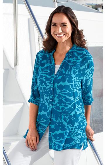 viskose bluse online bestellen bei dw shop 225 243. Black Bedroom Furniture Sets. Home Design Ideas