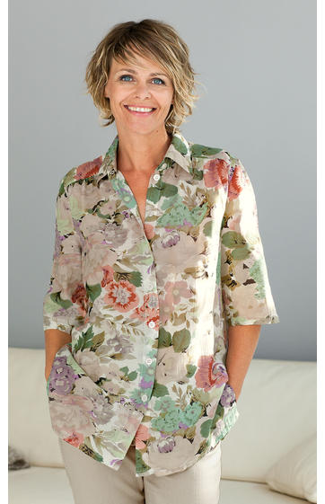 viskose mix bluse online bestellen bei dw shop 224683. Black Bedroom Furniture Sets. Home Design Ideas