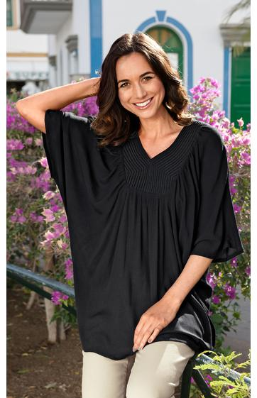 viskose bluse online bestellen bei dw shop 233015. Black Bedroom Furniture Sets. Home Design Ideas