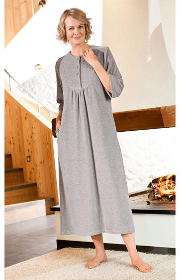 baumwoll hauskleid online bestellen dw shop 225946. Black Bedroom Furniture Sets. Home Design Ideas