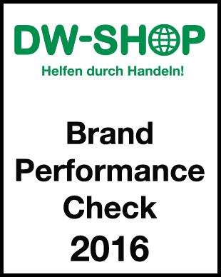 DW-Shop Brand Performance Check 2016 Cover